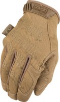 Gants de protection de sécurité ORIGINAL COYOTE moulant Mechanix wear SOLUPROTECH